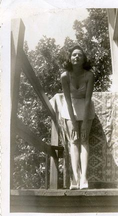 1940's vintage swimsuit