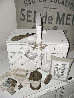 Vintage Inspired: sewing