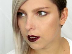 Jak Zazářit s Tmavými Rty / How To Rock Dark Lips Makeup Tutorial http://getthelouk.com/?p=3266