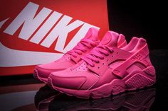 best price Nike Air Huarache Think Pink Hot Pink Vivid Pink 2015 running shoes Air Force One Shoes, Nike Air Force Ones, Nike Air Huarache Ultra, Nike Huarache, New Nike Shoes, Nike Free Shoes, Sneakers Fashion, Sneakers Nike, Huaraches Shoes