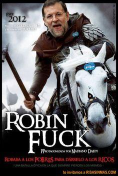 Robin Fuck Rajoy | Risa Sin Más