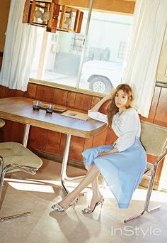 Tiffany Hwang SNSD Girls Generation - InStyle Magazine April Issue 2015
