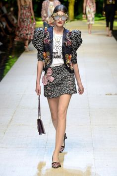 Dolce & Gabbana | Ready-to-Wear Spring 2017 | Look 55