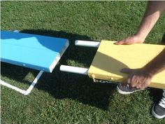 "I CAN MAKE THIS! This is fancy pvc ""ranch rail"" used as ""boards""! Its CHEAP. Like $15 a piece cheap."