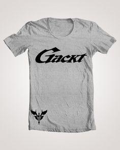 Gackt Logo T-Shirt Scandal BabyMetal Girugamesh One Ok Rock L'Arc-en-Ciel The Gazette Diaura Mejibray XJapan Vamps Diawolf Alicenine Hyde by Mazeishop on Etsy