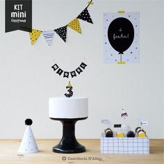 Party In A Box, Party Kit, Birthday Table, 2nd Birthday Parties, Kids Party Themes, Ideas Para Fiestas, Best Part Of Me, Balloon Decorations Party, House Party