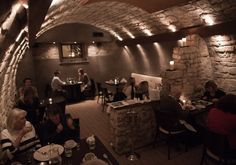 Italian Restaurant in Bath | Sotto Sotto Authentic Italian food served in a lovely cellar setting complete with barrel-brick roof. Ingredients are shipped in directly and everything's just like mama made, from the osso bucco (veal shank) to the orecchiette mare e monti (top-hat pasta with seafood, beans and pancetta).