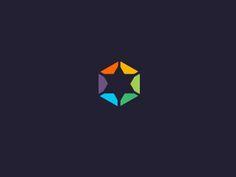 Dominion by Artission Negative Space Logos, Love Logo, Logo Sign, Stationery Design, Corporate Design, Identity Design, Logo Inspiration, Typography Design, Logo Branding