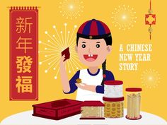 新 年 發 福 - A Chinese New Year Story by Infographics SG via slideshare
