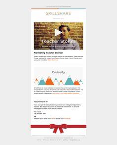 Email newsletter. #design