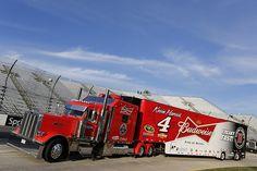 Transporter, Budweiser, Peterbilt, NASCAR, Hauler