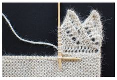 Knitted-On Lace Edging