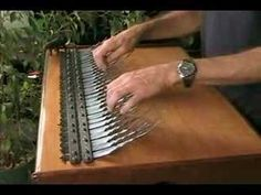 A 5 chord progression improvised on an Array mbira, 5 octave model by Array Instruments