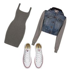 Designer Clothes, Shoes & Bags for Women Moschino, Casual Wear, Converse, Shoe Bag, Polyvore, How To Wear, Stuff To Buy, Outfits, Shopping