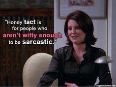 Karen's definition of tact.