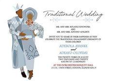 Digital Invitations, Wedding Invitation Templates, Invitation Design, Invitation Cards, Igbo Wedding, Ghana Wedding, Ghana Traditional Wedding, Igbo Bride, Ethiopian Wedding