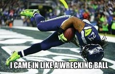 he came in like a wrecking ball he's never made a score like that before