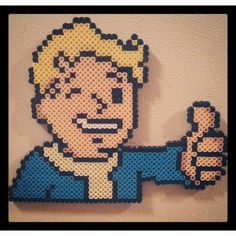 Fallout perler beads by tracymae2