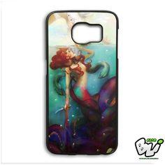 Ariel The Little Mermaid Samsung Galaxy S6 Edge Case