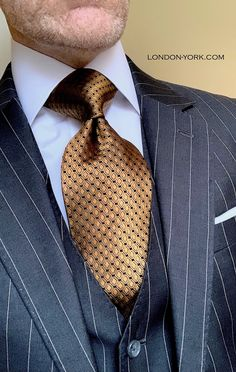 Tall Men, Tall Guys, Tie Pattern, Savile Row, Dress For Success, Suit And Tie, Business Attire, Tie Knots, Man Style