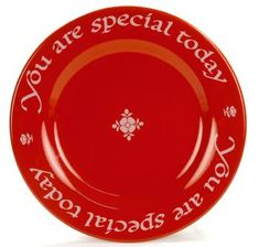 The Red Plate - Giftware You Are Special Today 4991271903 | Waechtersbach