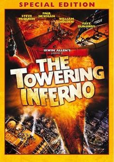 The Towering Inferno movie poster 1974