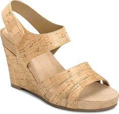 A2 by Aerosoles Shoes - A2 by Aerosoles Plush Day Women's Shoes in Cork Combo color. - #a2byaerosolesshoes #corkshoes