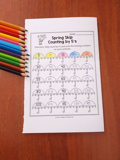 FREE Spring Math Worksheets and activities for preschool, kindergarten and 1st grade kids. This freebie set includes pages like: number recognition, color by number, number bonds, sight word search, skip counting, ten frame worksheets, number writing practice and more. All these worksheets are no prep and will help teachers save time during the school year. Spring Math and Literacy Worksheets is a no prep packet packed full of worksheets and printables to help reinforce math skills in a fun…