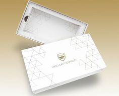 Arsenal FC Hospitality Presentation Box - a creative packaging solution produced by Cedar Packaging