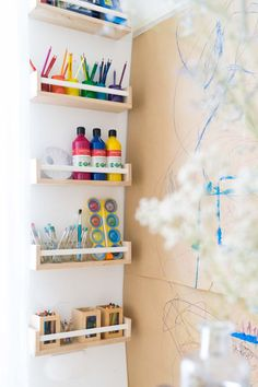 IKEA furniture popularity has been known to many people for a long time, even for a simple spice rack. Around a few years ago, IKEA spice rack has been widely Ikea Spice Rack Hack, Ikea Hack Storage, Ikea Hack Kids, Spice Racks, Ikea Furniture, Furniture Stores, Kids Room, Child Room, Room Decor