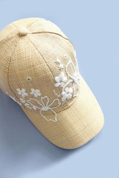 708cfef3b2d Make an embroidered baseball hat Hat Embroidery