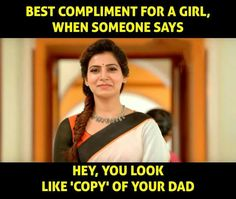 Appa ❤ # love that compliment u papa to the square of infinity Father Daughter Love Quotes, Love My Parents Quotes, Mom And Dad Quotes, Crazy Girl Quotes, Funny Girl Quotes, Sister Quotes, Papa Quotes, True Quotes, Quotes On Father