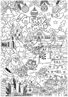 Angel Coloring Pages, Coloring For Kids, Coloring Pages For Kids, Coloring Books, Christmas Coloring Sheets, Printable Christmas Coloring Pages, Christmas Printables, Christmas Pictures To Color, Christmas Colors