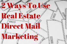 You curious about direct mail marketing for Realtors? There are two main ways to use it and here are some things to think about. Mail Marketing, Marketing Ideas, Direct Mail, Tax Free, Lead Generation, Real Estate Marketing, Business Tips, Things To Think About, Couple