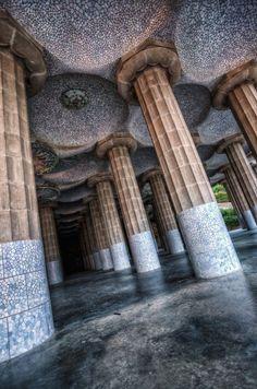 Le parc Güell - Gaudi : Barcelone