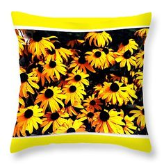 """Preakness Time. Throw Pillow 14"""" x 14"""""""
