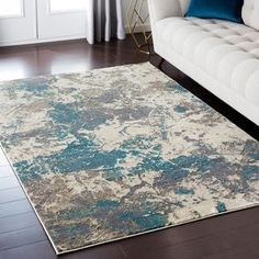 Machine Woven Barranca Polyester Rug (2' x 3') | Overstock.com Shopping - The Best Deals on Accent Rugs