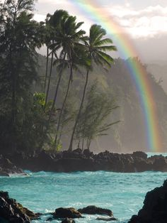 Beautiful Keanae Peninsula, Maui
