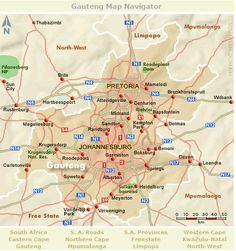 Gauteng Map Navigator South Africa Map, Kempton Park, Evil Clowns, Sun City, North West, Road Trips, Qoutes, Maps, Urban