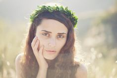 Bridal hair crown Natural boxwood wreath Wedding by whichgoose, $65.00
