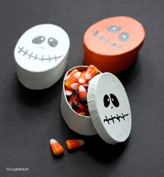 Hi Sugarplum | Halloween Treat Boxes