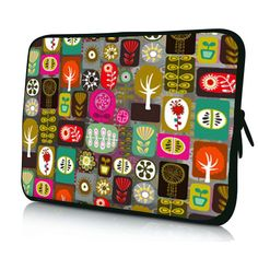 """Tree Theme 15 inch 15 4"""" 15 6"""" Laptop Sleeve Soft Case Bag Notebook Cover Pouch 