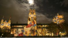 Third Lumiere festival (Durham Cathedral) - About 200,000 people are expected to visit Durham city centre to see the return of Lumiere Festival (2013).