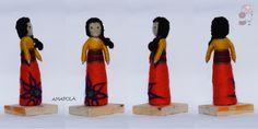 AMAPOLA Escultura en Fieltro a pedido. www.pecorinapecorina@gmail.com