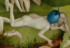 Detail from The Garden Of Earthly Delights, Hieronymus Bosch, 1490 - 1510 From imagediver at Imagediver Hieronymus Bosch, Renaissance, Arte Tribal, Garden Of Earthly Delights, Medieval Art, Prado, Art World, Oeuvre D'art, Art History