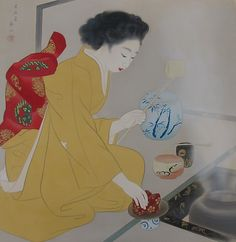 Young Woman Preparing Tea Miki Suizan From: http://metmuseum.org/exhibitions/view?exhibitionId=%7b93F2A73E-D2AE-46A2-823B-A47219E55980%7d&oid=57333&pkgids=263&pg=4&rpp=30&pos=113&ft=*