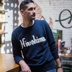 Ebbets Field Hiroshima Carp Crewneck Sweatshirt