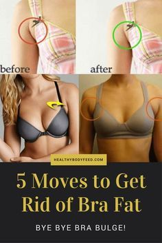5 Moves to Get Rid of Bra Fat