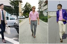 Men's Pink Shirts at The Idle Man | Shop here | #StyleMadeEasy
