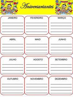 Planner para professor 2018 - Turma da Mônica Kids Clothes Patterns, Planner 2018, Education, School, Planners, Ely, Nara, Montessori, Barbie